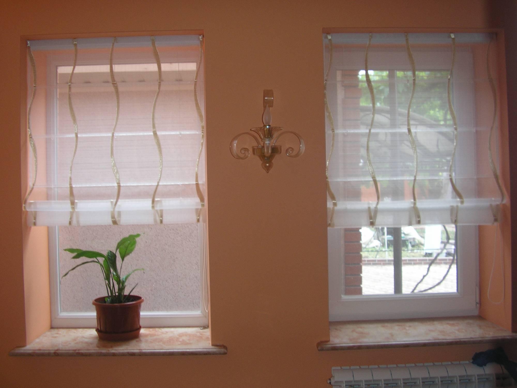 Римские шторы из старых жалюзей своими руками пошаговое фото